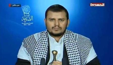 السيد الحوثي: حزب الاصلاح يتعاون مع القاعدة لمواجهة الثورة RERTERTER-20150226-192011